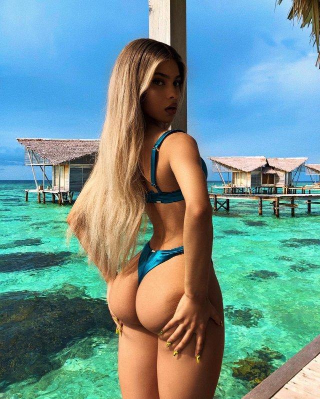 Леми Бьюти - Instagram-модель, которая может затмить Ким Кардашьян (20 фото)