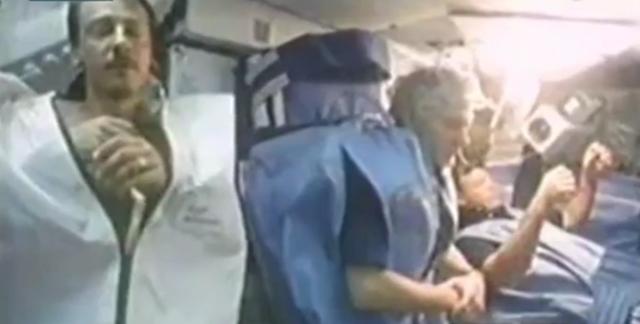 Видео со спящими астронавтами NASA напугало пользователей соцсетей