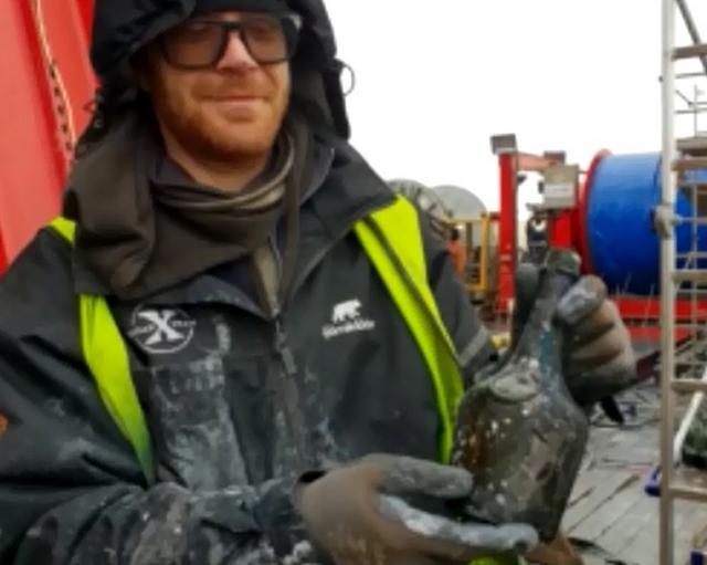 На дне Балтийского моря нашли 900 бутылок алкоголя