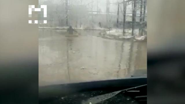 Жители Вологодской области тонут из-за паводков