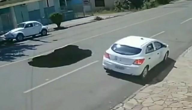 А говорят, что в России плохие дороги