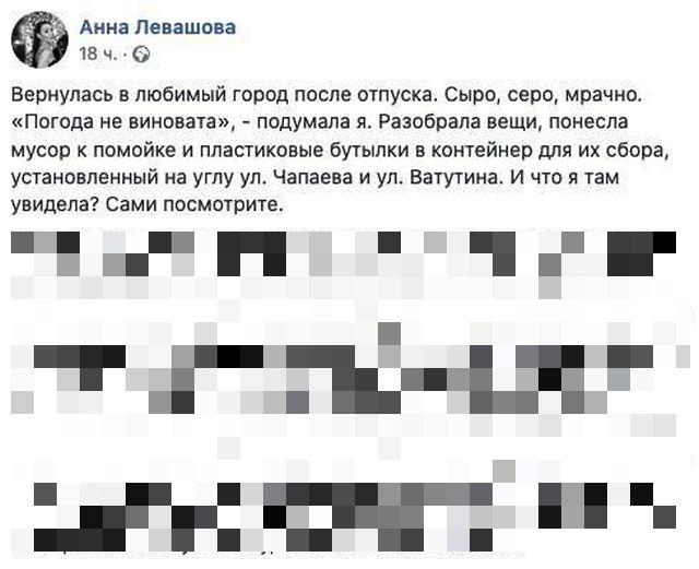 Чиновницу Анну Левашову уволили из-за гневного поста в соцсети