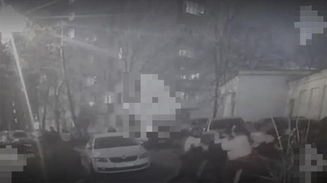 В Москве произошла массовая драка дворников
