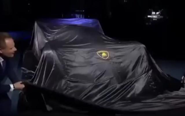 Презентация новой модели Lamborghini V12 Vision GT
