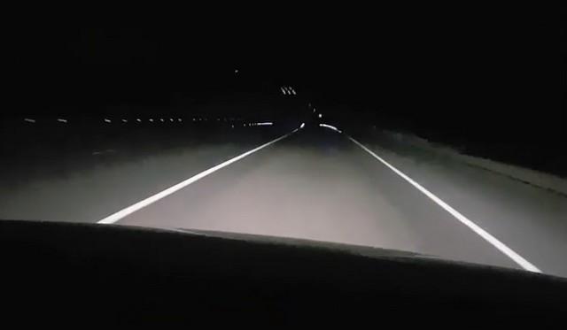 Светящаяся разметка в России. Она существует!