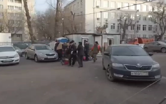 В Москве прошла жестокая битва за парковку