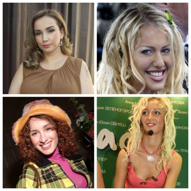 До и после: как изменились российские звезды после титанической работы стилистов (10 фото)