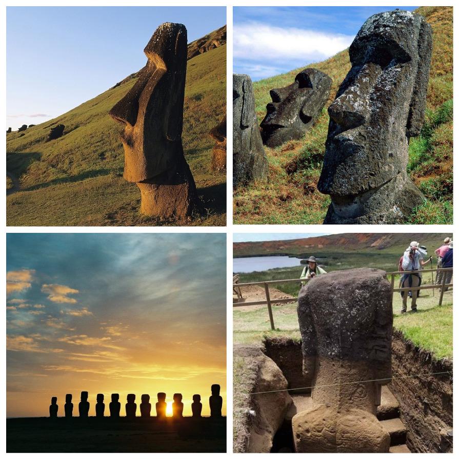 Что скрывают каменные статуи на острове Пасхи (9 фото)