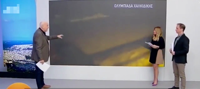Дерзкое нападение на греческого журналиста в прямом эфире