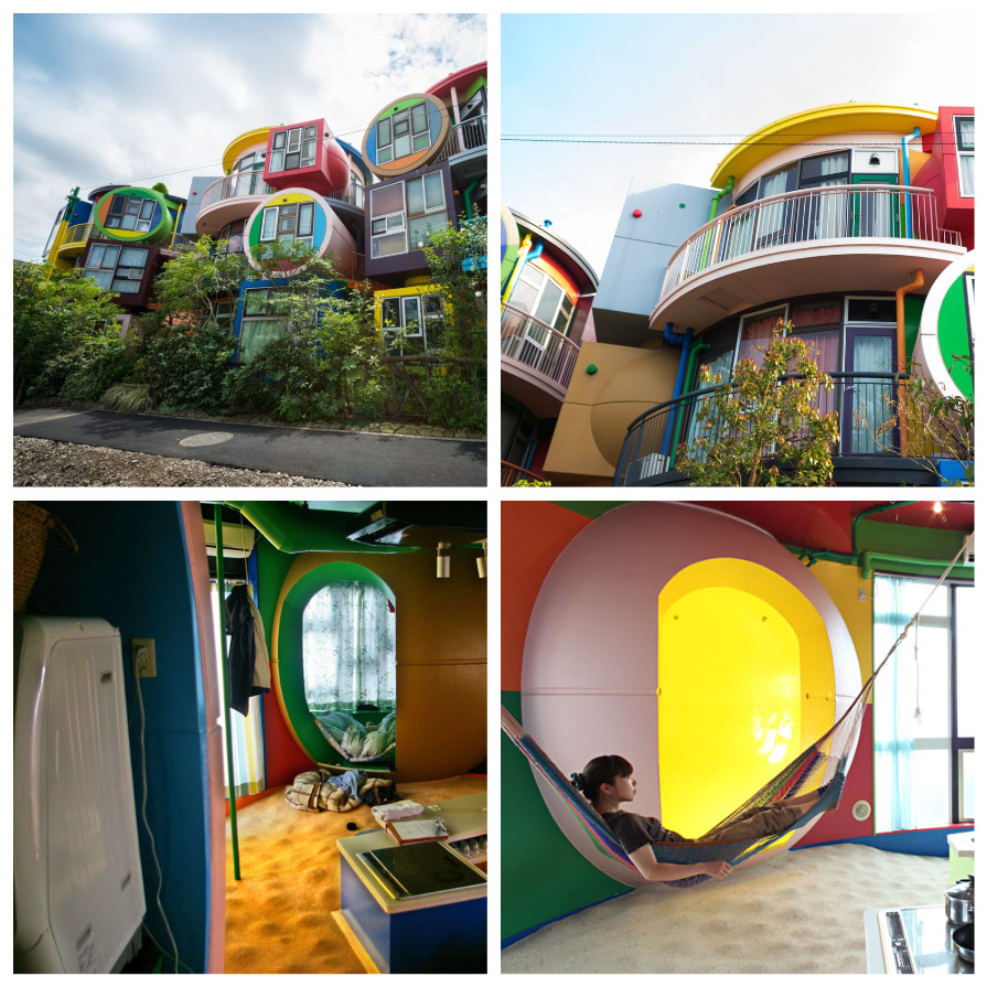 Дом, который побуждает жить: лофт-комплекс в Токио (8 фото)