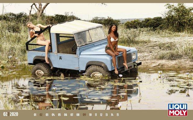 """Горячий календарь от немецкой компании """"LIQUI MOLY""""  (24 фото)"""