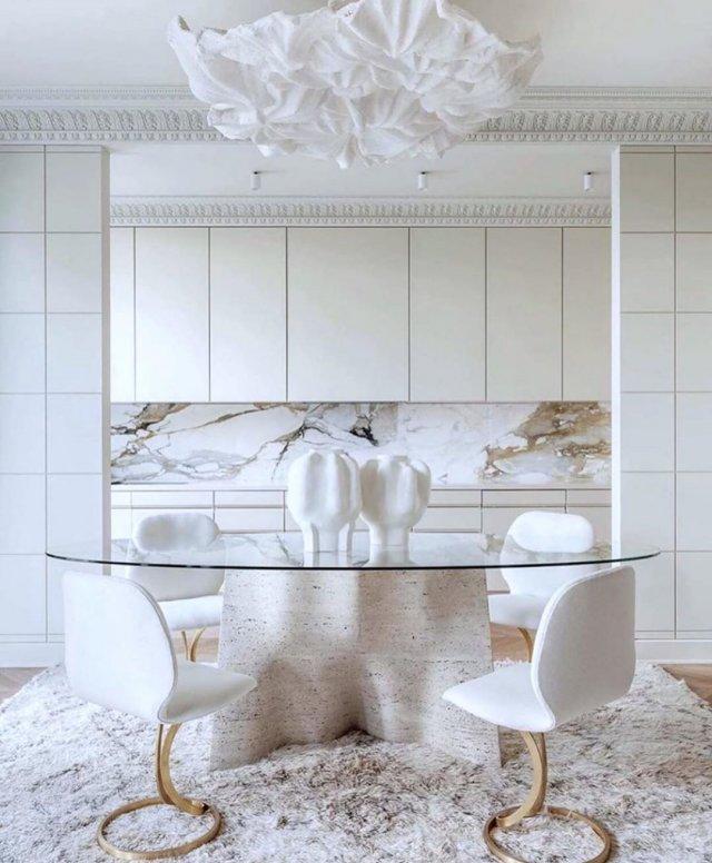 Примеры того, как стильно и лаконично могут смотреться обычные вещи в белом цвете (23 фото)