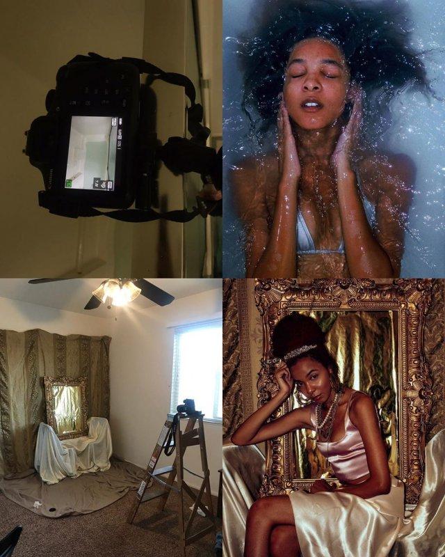 Instagram-модель показала, как сделать вирусное фото в квартире, используя подручные средства (17 фото)