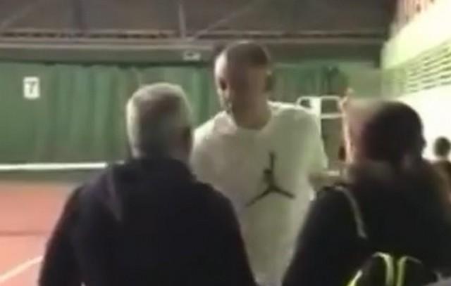 Пьяный волейболист Алексей Спиридонов устроил драку на детских соревнованиях