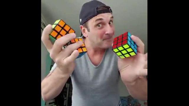 Новый уровень сборки кубика Рубика