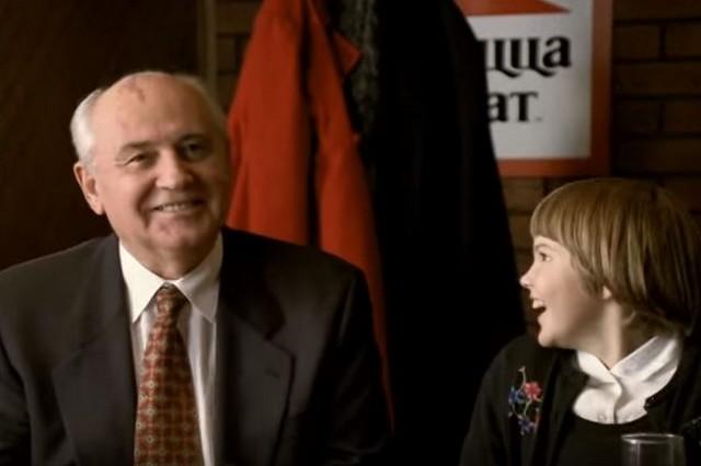 Сколько заплатили Михаилу Горбачеву за рекламу Pizza Hit?
