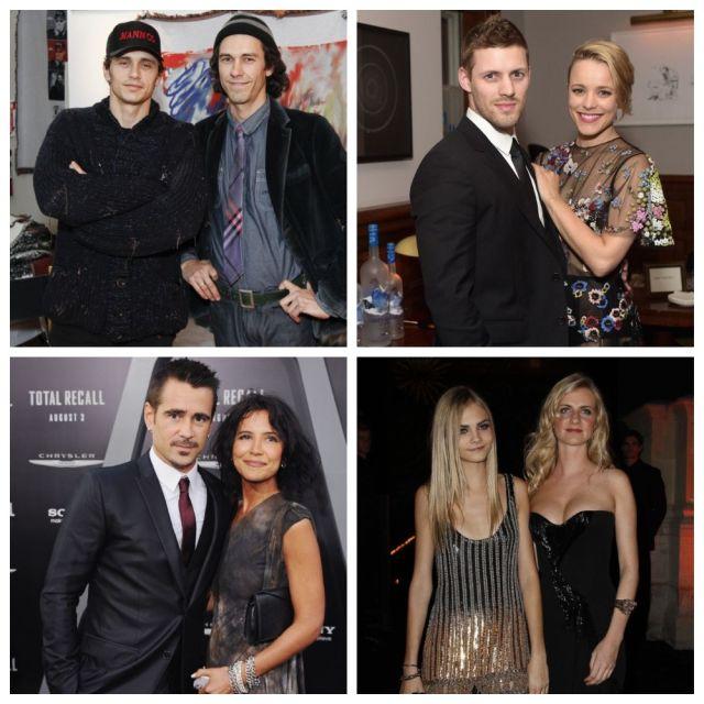 Братья и сестры знаменитостей, которые выбрали тихую жизнь (10 фото)