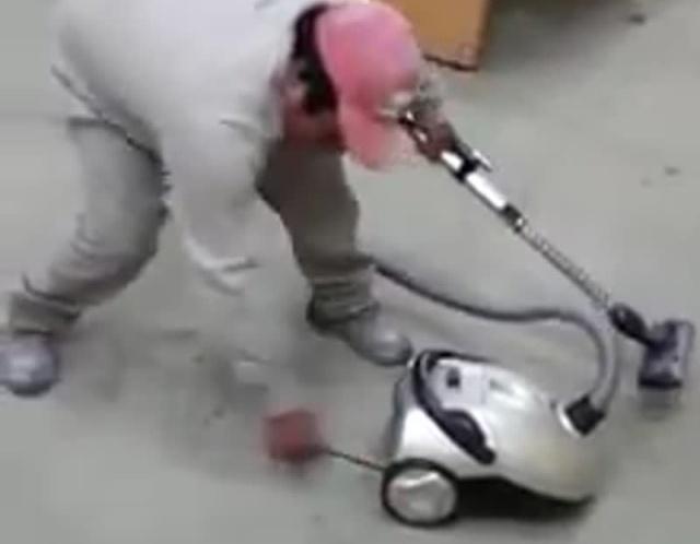 Как запустить пылесос