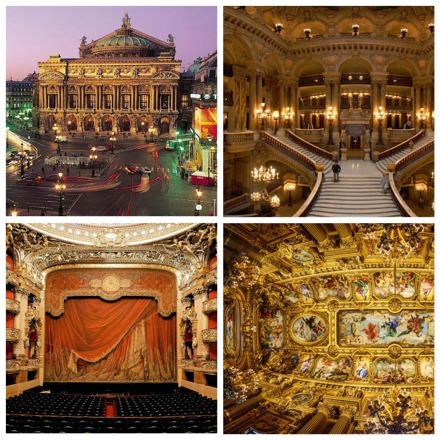 Живет ли Призрак оперы в парижском Гранд Опера? (8 фото)
