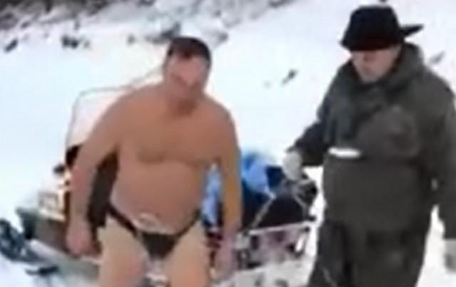 Вот такие развлечения на Урале