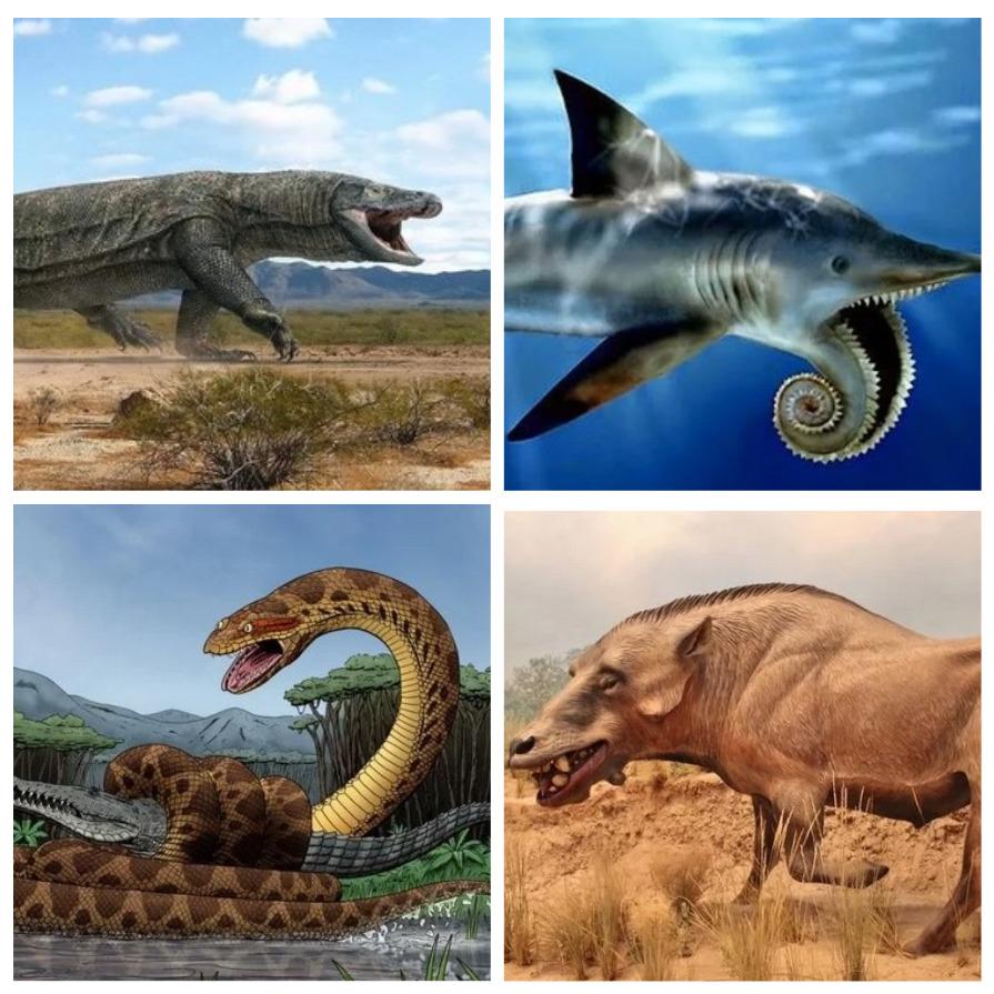 Жуткие доисторические монстры (8 фото)