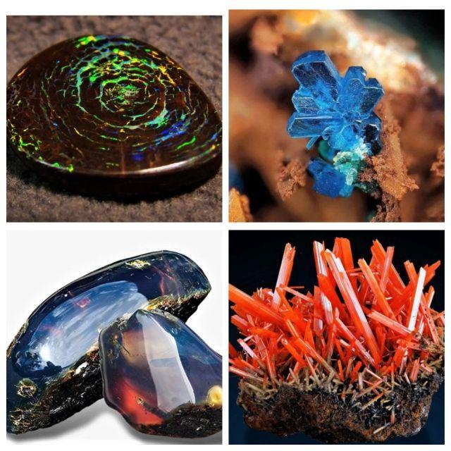 ТОП-10 самых необычных и красивых минералов на планете (10 фото)