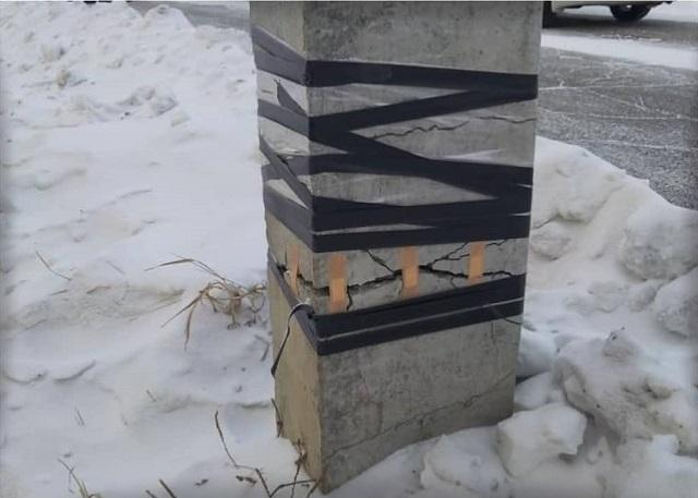 Инновационный метод ремонта электроопор в Приамурье (3 фото)