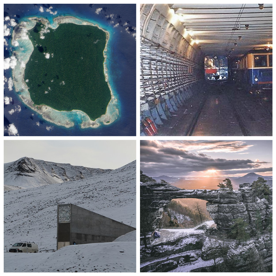Секретные места на планете, куда запрещен доступ простым людям (10 фото)