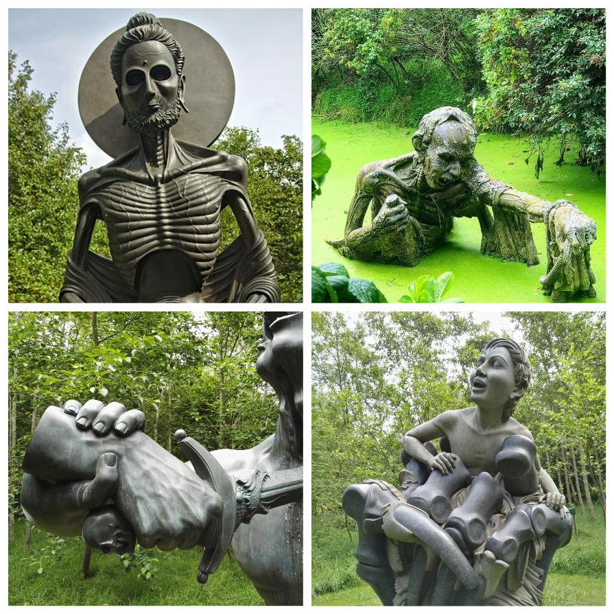 «Путь Виктории»: сад с самыми странными скульптурами (9 фото)