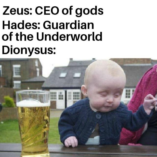 Новый тред в соцсетях: опишите древнегреческих богов с помощью мемов (19 скриншотов)