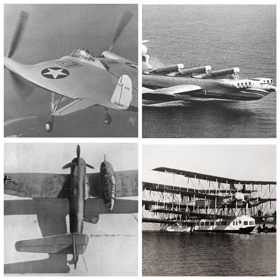 Самые странные летательные аппараты (7 фото)