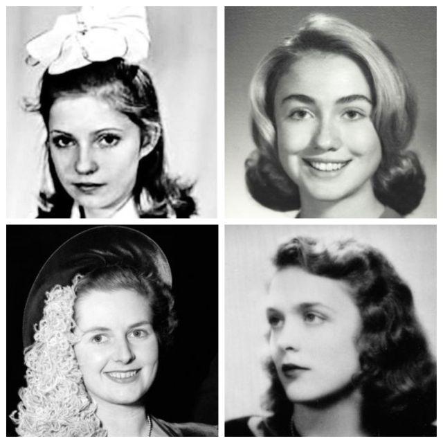 Влиятельные женщины, которые в юности обладали особым шармом (12 фото)