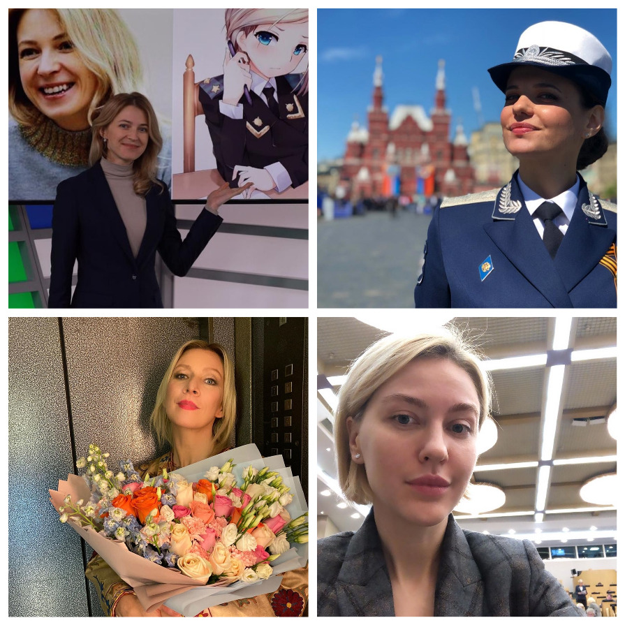 Самые красивые депутаты и пресс-секретари России (9 фото)