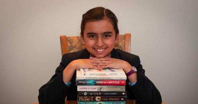 Фрейя Манготра - 10-летняя девочка, у которой IQ выше, чем у Альберта Эйнштейна и Стивена Хокинга (3 фото)