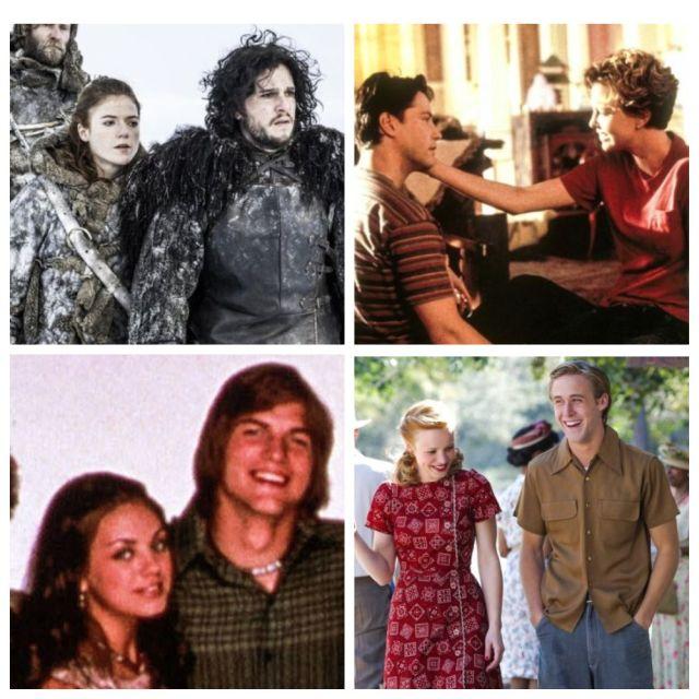 Известные кинопары, которые полюбили друг друга в реальной жизни (11 фото)