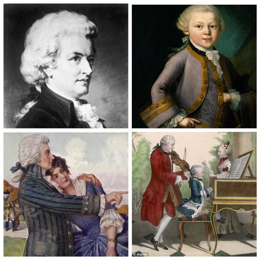Необычные факты из жизни Вольфганга Амадея Моцарта (8 фото)