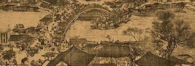 Самую известную картину в истории китайского искусства перенесли в реальную жизнь (10 фото)