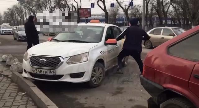 Таксистские разборки в Ростове