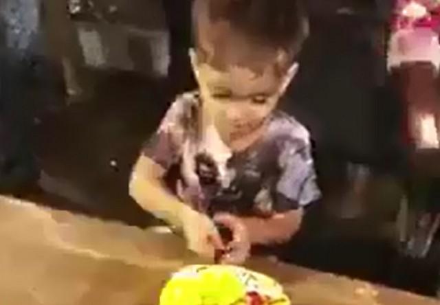 Когда у самого младшего в семье день рождения