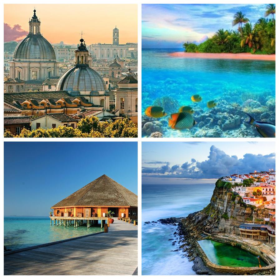 Идеальные страны для отпуска (8 фото)
