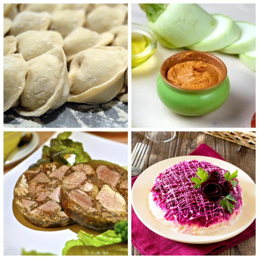 Вкуснейшие блюда русской кухни (9 фото)