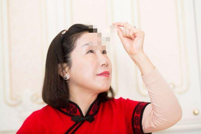 Ю Цзянься - китаянка попала в Книгу рекордов Гиннесса за самые длинные ресницы в мире (5 фото)