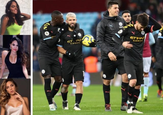 """Награду победителям: игрокам """"Манчестер Сити"""" устроили частную вечеринку с 22 моделями из Италии (16 фото + видео)"""