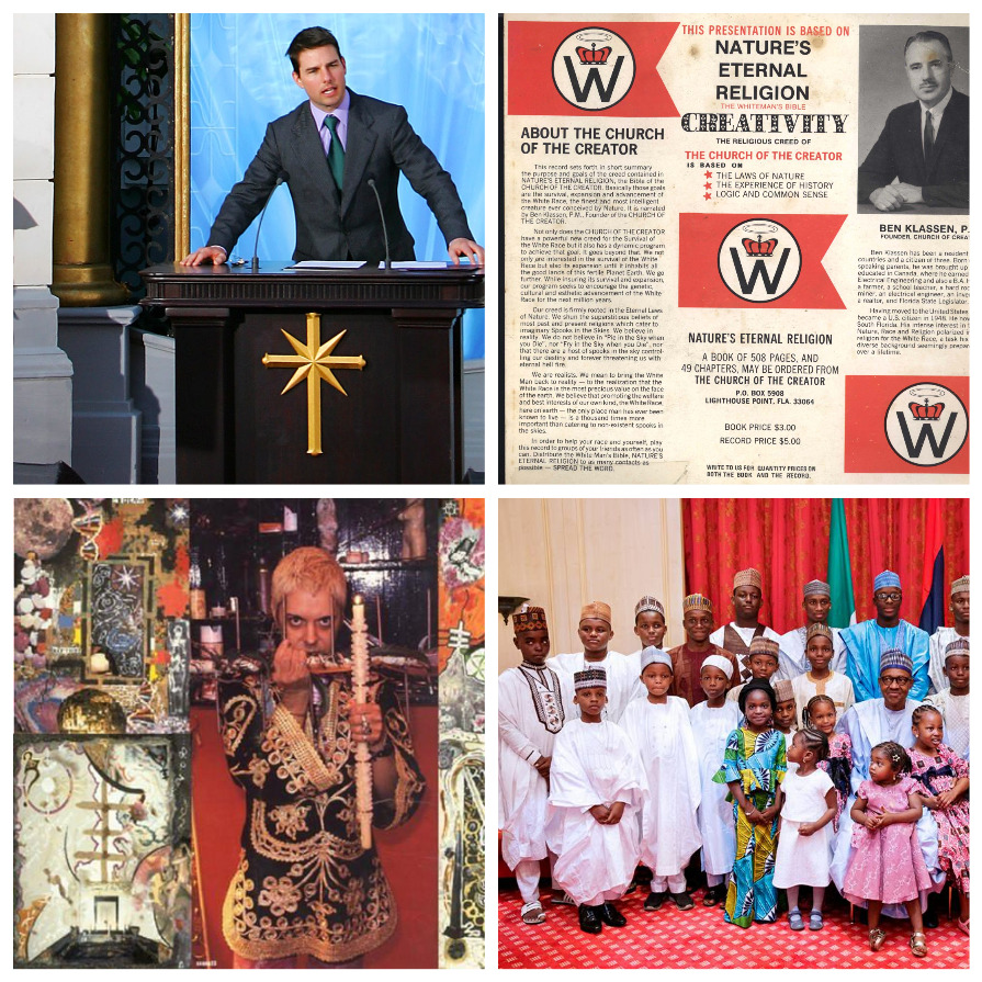 Необычные религии, у которых есть последователи  (6 фото)