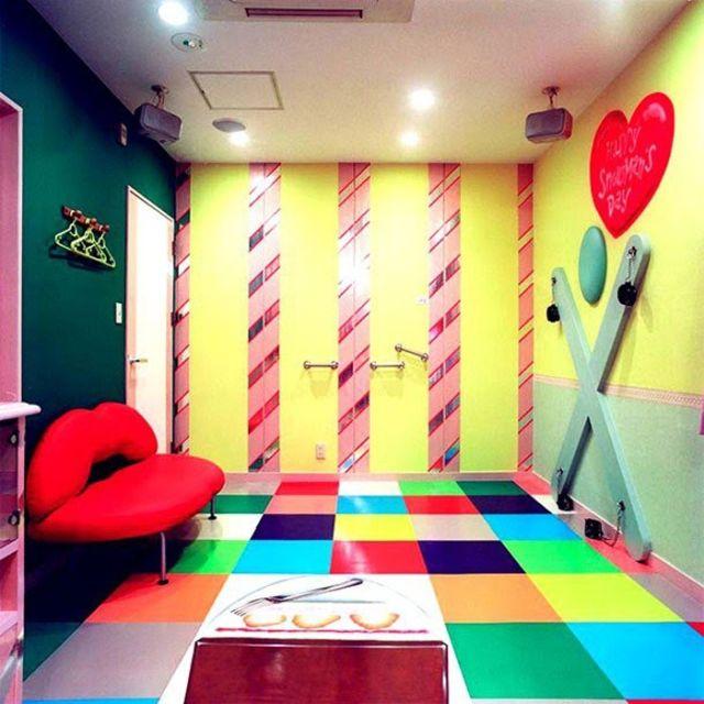 """Дизайны японский """"отелей для свиданий"""" (10 фото)"""