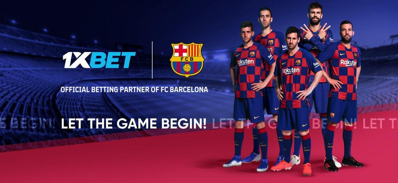 Букмекерская компания 1xBet стала глобальным партнером «Барселоны»