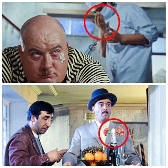 Подборка киноляпов в знаменитых советских фильмах (10 фото)