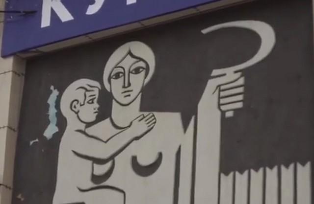 В Ижевске «оживили» уличные советские панно