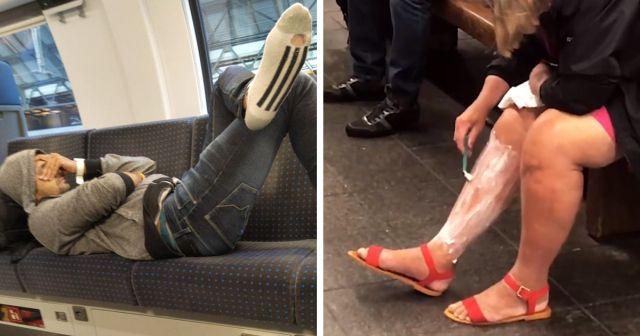 Подборка сказочных пассажиров из общественного транспорта (20 фото)