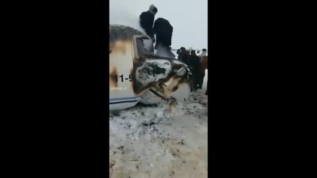 Талибы взяли ответственность за крушение лайнера в Афганистане